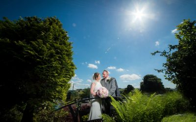 Wedding Photography at Glenskirlie Castle – Paddy & Maria